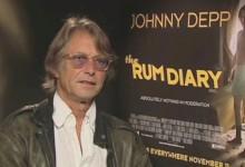 Bruce Robinson - The Rum Diary Junket