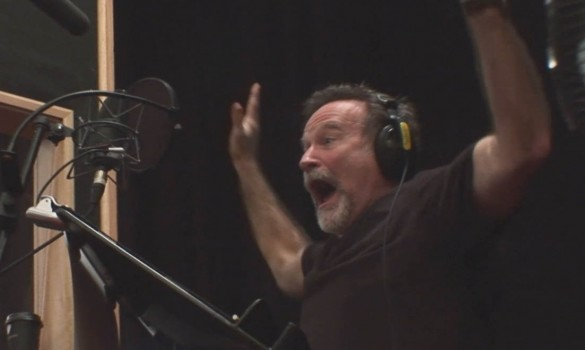 Robin Williams - Happy Feet 2 Recording