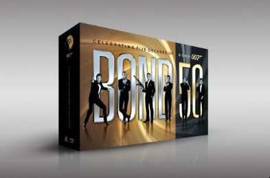 James Bond Blu-ray