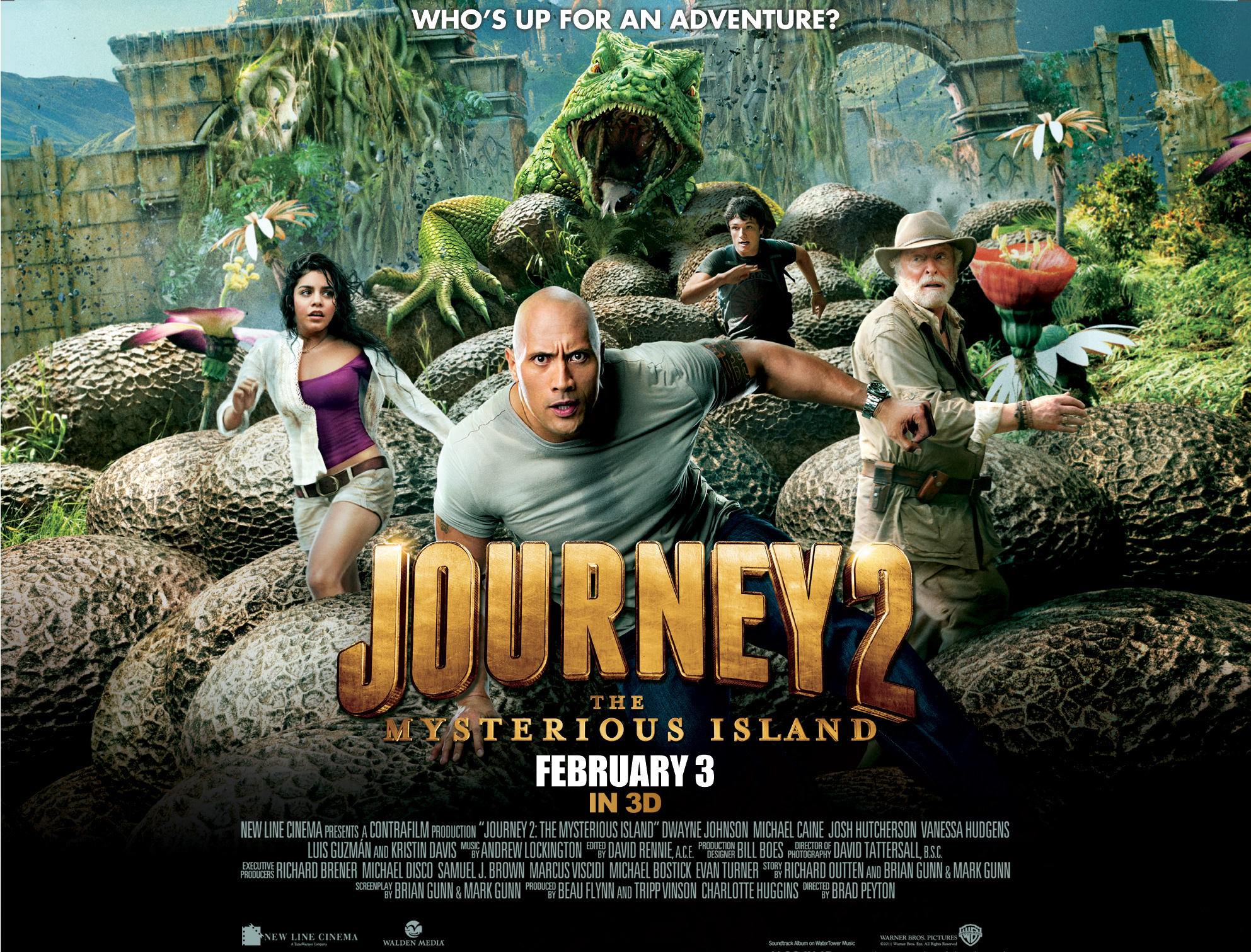 New Trailer For Journey  The Mysterious Island