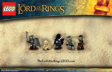 LEGO - Lord of the Rings Characters (Badies)