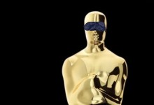 oscar with blindfold