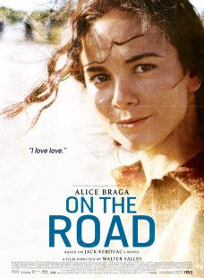 On the Road poster Alice Braga