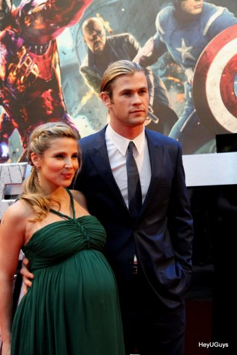 The Avengers European Premiere - Chris Hemsworth