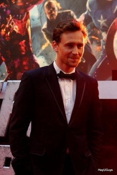 The Avengers European Premiere - Tom Hiddleston (Loki)