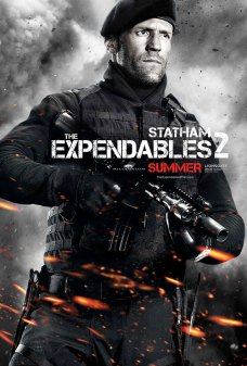 The Expendables 2 Poster - Jason Statham