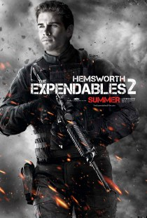 The Expendables 2 Poster - Liam Hemsworth