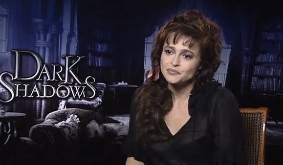 Helena Bonham Carter Dark Shadows Interview
