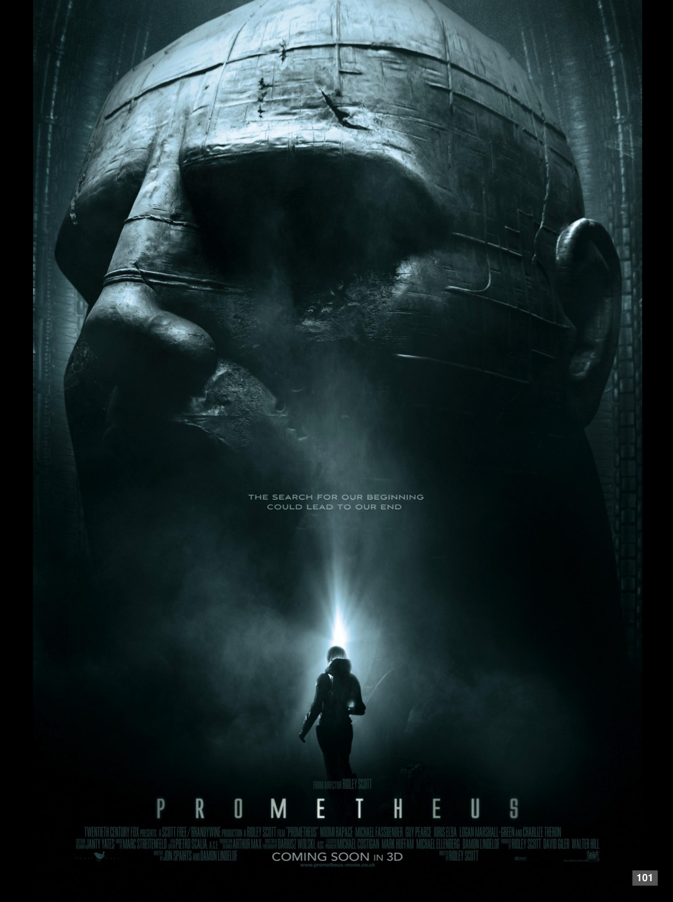 Prometheus UK Poster