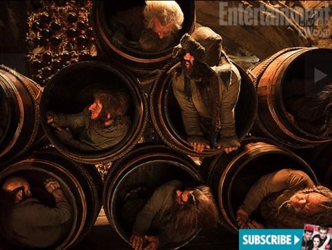The Hobbit Barrels of Dwarf