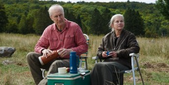 James Cromwell and Geneviève Bujold in Still