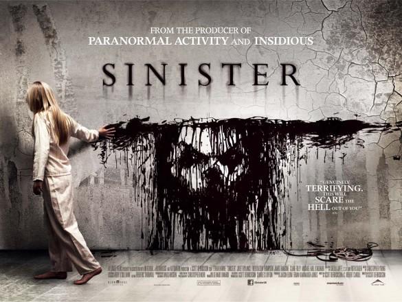 Sinister UK Quad Poster