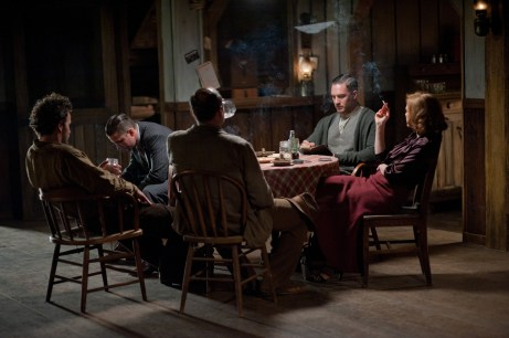 Tom Hardy, Shia LaBeouf & Jessica Chastain in Lawless