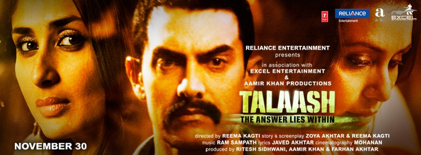 Talaash Poster
