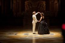 Aaron Taylor-Johnson and Keira Knightley in Anna Karenina