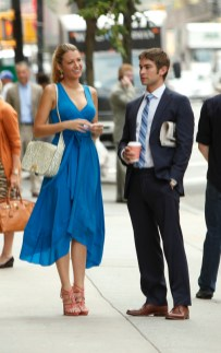 Blake Lively and Chace Crawford in Gossip Girl