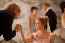 Domhnall Gleeson and Alicia Vikander in Anna Karenina