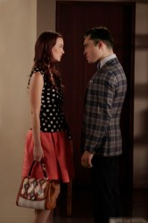 Leighton Meester and Ed Westwick in Gossip Girl
