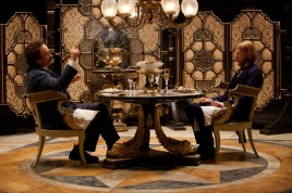 Matthew Macfadyen and Domhnall Gleeson in Anna Karenina