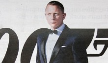 Skyfall Poster - Daniel Craig as James Bond
