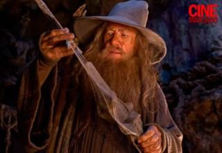 Ian McKellen in The Hobbit: An Unexpected Journey