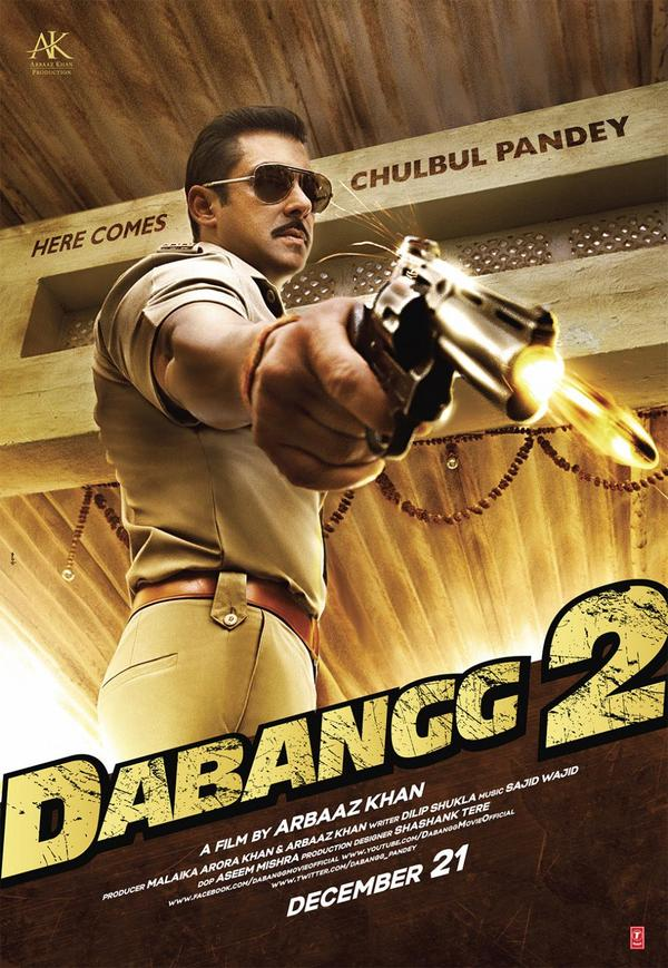 Image result for dabangg 2 poster