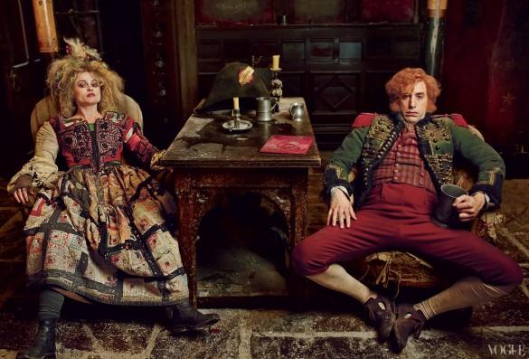 Les Misérables - Helena Bonham Carter and Sacha Baron Cohen