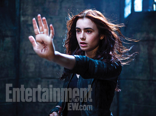 Lily Collins in Mortal Instruments: City of Bones
