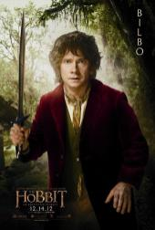 The Hobbit: An Unexpected Journey Character Poster – Bilbo