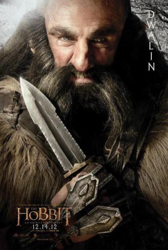 The Hobbit: An Unexpected Journey Character Poster – Dwalin