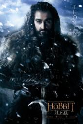 The Hobbit: An Unexpected Journey Character Poster – Thorin