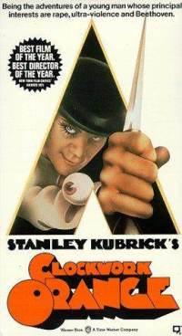 A Clockwork Orange VHS cover