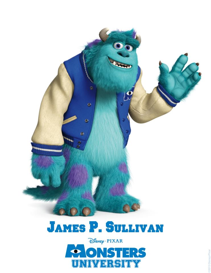 Monsters University Character Posters Meet The Monsters