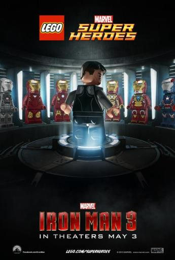 LEGO Iron Man 3 Poster (2)