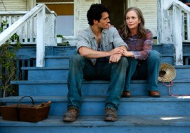 Henry Cavill and Diane Lane in Man of Steel