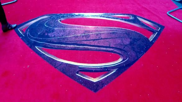 Man of Steel Premiere Carpet