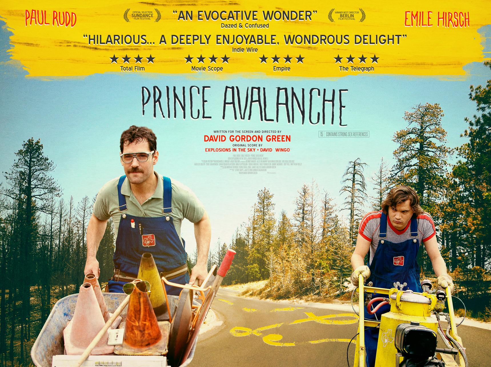Prince Avalanche UK Quad Poster