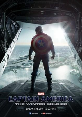 Captain America The Winter Soldier UK Teaser Poster