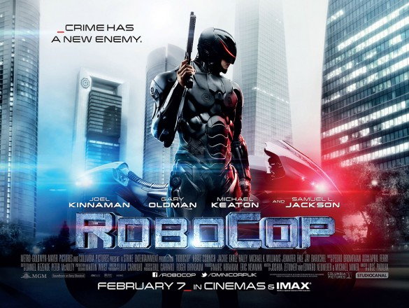 Robocop UK Poster