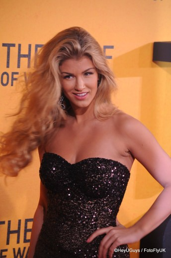 Amy Wilerton at The Wolf of Wall Street Premiere