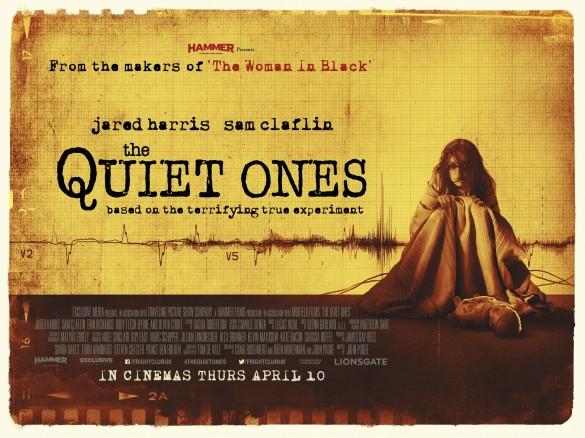 The Quiet Ones UK Quad Exclusive