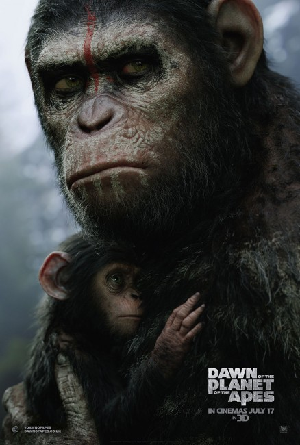 Dawn of the Planet of the Apes UK PosterLR