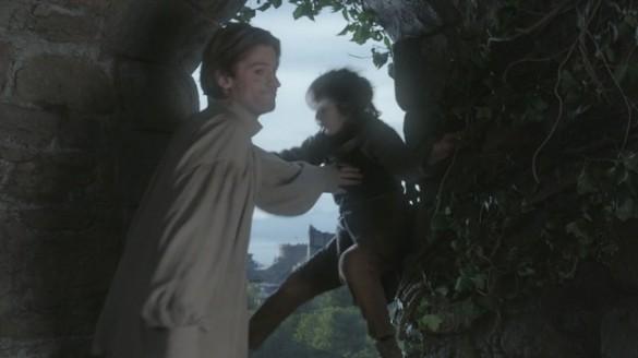 Jaime Pushes Bran