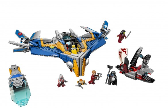 The Milano Spaceship Rescue  -  Guardians of the Galaxy LEGO