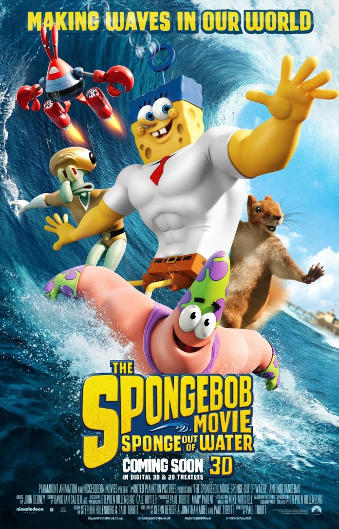 Spongebob Squarepants the Movie UK Poster