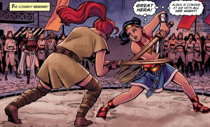 Wonder Woman Origin
