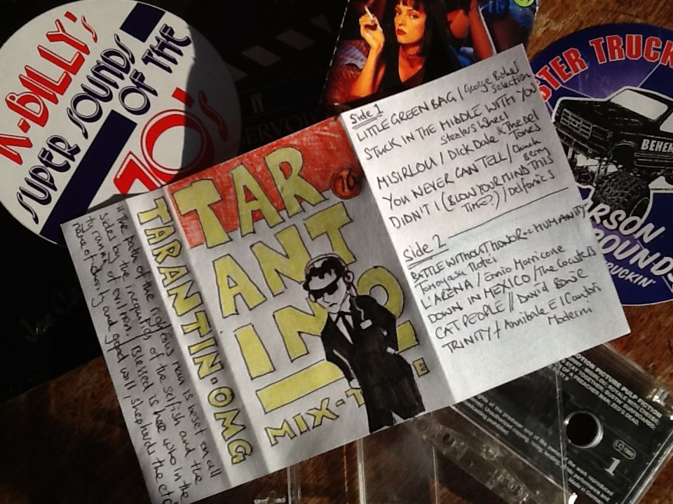 Quentin Tarantino Mix Tape