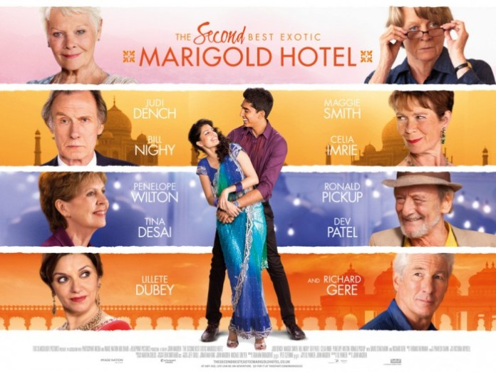 The Second Best Exotic Marigold Hotel Poster