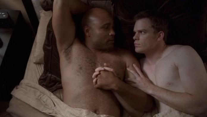 michael c hall shirtless gay six feet under