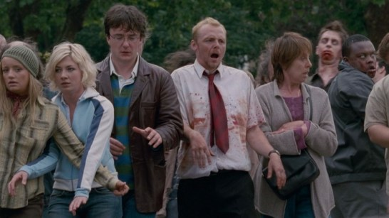 Shaun of the Dead walk